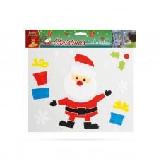 Decoraţie gel pt. geam - Crăciun - XXL, 5 buc. / pachet