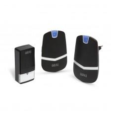 Sonerie digitala fara fir si fara baterie, cu 2 unitati de receptie - Kinetic,