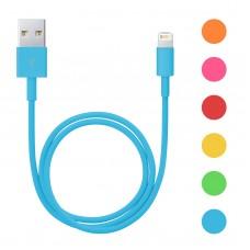 Cablu de date pt. iPhone 5/6,  6 culori, 1m