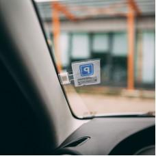Suport de tichete de parcare - autoadeziv