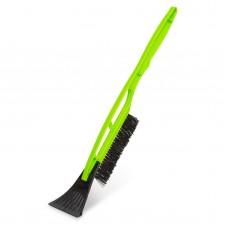 MNC- Perie pentru zăpadă cu racletă pentru gheaţă, mâner mat. plastic, 510 mm - verde