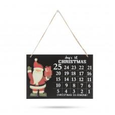 Calendar de Ajun, lemn