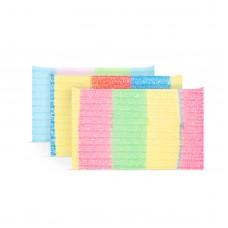 Family Pound - Pernă abrazivă - colorată - 3 buc. / pachet