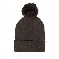 Top Ten - Şapcă tricotată de iarnă - negru - cu pompon