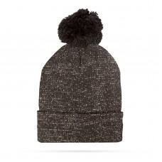 Top Ten - Şapcă tricotată de iarnă - negru - cu glitter şi pompon