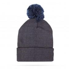 Top Ten - Şapcă tricotată de iarnă - Albastru - cu pompon