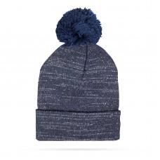 Top Ten - Şapcă tricotată de iarnă - Albastru - cu glitter şi pompon