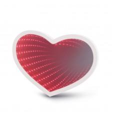 Oglinda magica LED, model inima