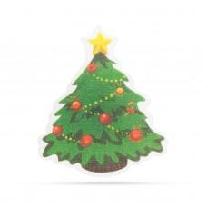 Decoraţie de Crăciun cu LED RGB - autocolant - model brad
