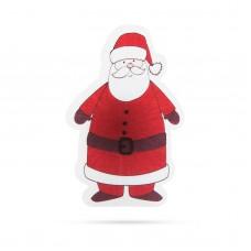 Decoraţie de Crăciun cu LED RGB - autocolant - model Moş Crăciun