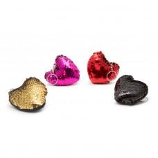 Breloc glitter - 3 modele - 4 culori