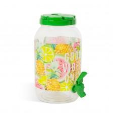 Family Pound - dozator de băuturi cu robinet - cu modele - 3,8 l