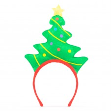 Bentiţă pt. cap model de Crăciun - brad
