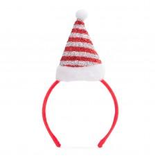 Bentiţă pt. cap model de Crăciun - căciulă Moş Crăciun