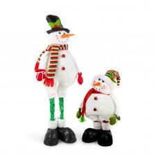 Om de zăpadă textil, cu picioare telescopice - 2 modele - 52 cm
