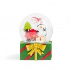 Bulgăre de zăpadă de Crăciun cu LED - 4 modele . 12 buc./display