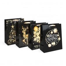 Sacoşă, pt. cadouri de Crăciun 265 x 127 x 330 mm, 12 buc. / pachet