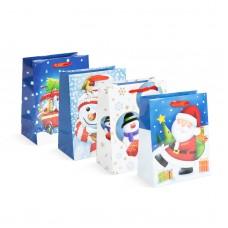 Sacoşă, pt. cadouri de Crăciun 178 x 102 x 228 mm, 12 buc. / pachet