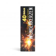 Artificii sclipitoare pentru pom - XXL - 16,5 cm 40 buc. /pachet