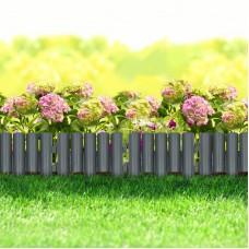 Bordura pt. pat de flori / gazon, 4 buc./pachet, 28 x 24 cm - mat. plastic