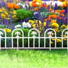 Bordura pt. pat de flori / gard - 60 x 30 - alb