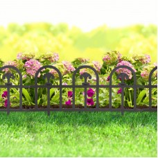Bordura pt. pat de flori / gard - 60 x 30 - Negru