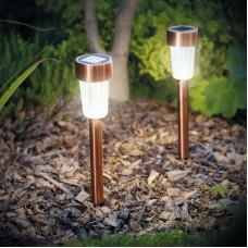 Lampă solară pentru grădină, cu LED
