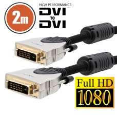 CABLU DVI-DVI 2M HIGH PERFORMANCE