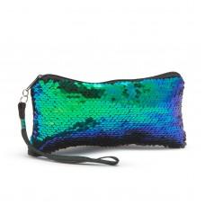Borsetă glitter pt. cosmetice - cu fermoar - 20 x 12 x 8 cm - 8 culori