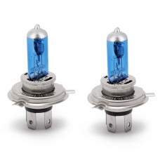 Set de 2 becuri Halogen H4 - 60/55W + 50% intensitate Alb Xenon