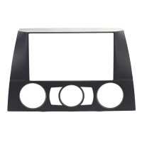 Adaptor 2 DIN BMW - E91 - 3-Series with Manual A/C 2004-2012