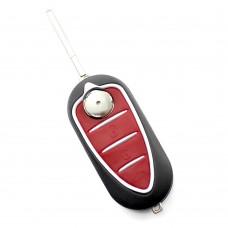 CARGUARD - Alfa Romeo - Carcasă cheie - tip briceag, cu 3 butoane
