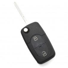 CARGUARD - Audi - carcasă cheie tip briceag, cu 2 butoane