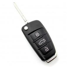 Audi Q7 - Carcasa cheie tip briceag, 3 butoane