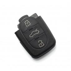 CARGUARD - Audi - carcasă cheie cu 3 butoane, baterie 1616