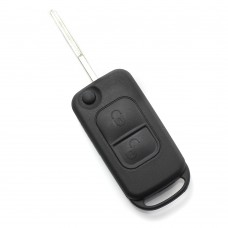 Mercedes Benz - Carcasa tip cheie briceag cu 2 butoane, lama 2
