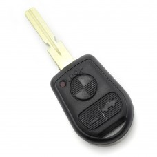 BMW - Carcasa cheie 3 butoane cu lama 4 piste (model nou)