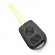 CARGUARD - BMW - carcasă cheie cu 2 butoane și lama 2 piste (model nou)