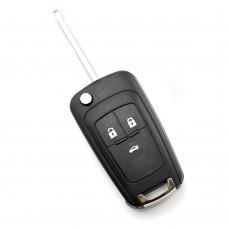 Opel / Chevrolet - Carcasa tip cheie briceag cu 3 butoane