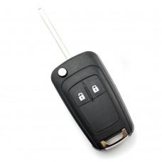 Opel / Chevrolet - Carcasa cheie - 2 butoane - tip briceag