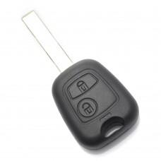 Citroen / Peugeot - carcasă cheie cu 2 butoane
