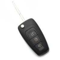 Ford - Carcasa tip cheie briceag cu 3 butoane