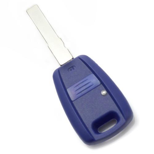 Fiat Carcasa cheie 1 buton, albastru, cu pregatire pt. chip TPX lung (fara logo)