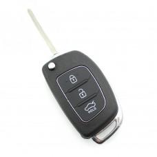 Hyundai - Carcasa cheie tip briceag, 3 butoane