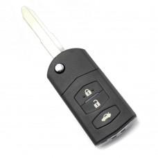 Mazda - Carcasa cheie tip briceag, 3 butoane, model original