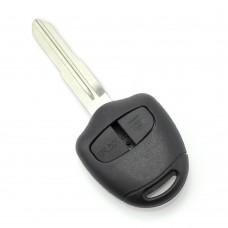 Mitsubishi - Carcasa cheie 2 butoane, lama pe dreapta
