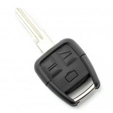 Opel - Carcasa cheie cu 3 butoane, lama pe stanga