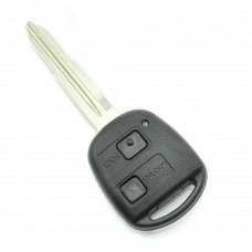 Toyota: carcasă cheie, 2 butoane, lamă TOY41-SH2 (fără logo)