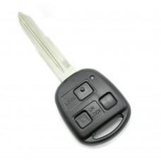 Toyota carcasa cheie 3 butoane, lama TOY41-SH3 (fara logo)