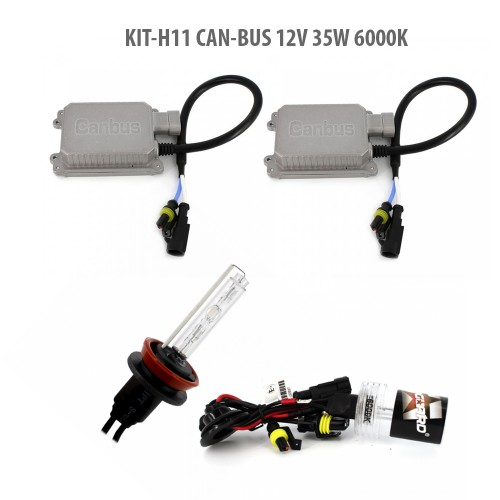 H11 CAN-BUS 12V 35W 6000K